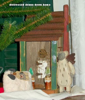Christmas, decorations, trees, ornaments, primitives
