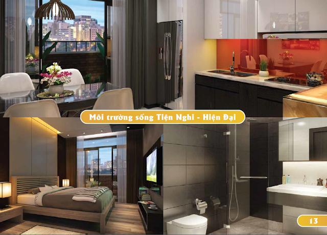 Thiết kế nội thất căn hộ Luxury Park View