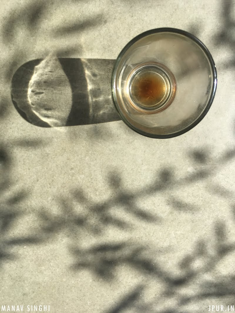 Light, Shadow and Coffee.
