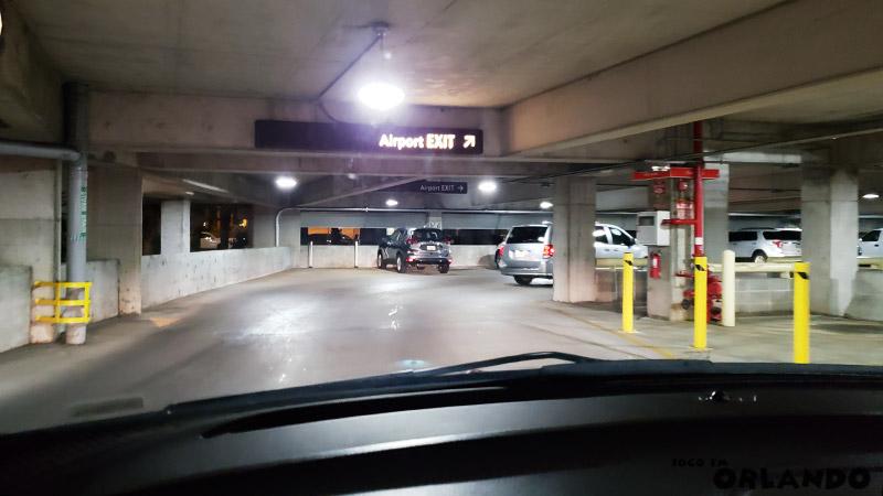 Edifício Garagem do Aeroporto de Orlando