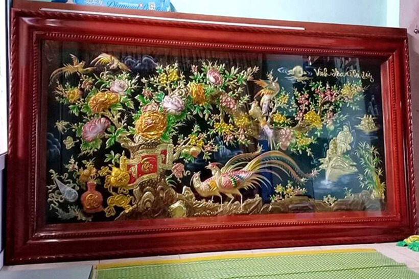 Tranh Đồng Vinh Hoa Phú Quý