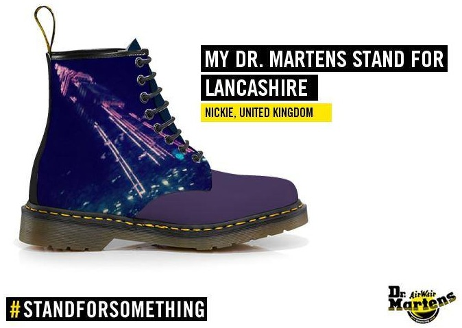 My Dr Martens Stand For Lancashire