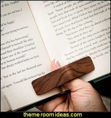 thumb thingy PagePal Page Holder - Personal Book Assistant  Gift ideas - fun novelty gift shopping ideas - gift ideas - book themed decor - Bibliophiles decor - Book themed furnishings - home decor for book lovers - book themed bedroom -  Stacked Books decor -  Stacked Books furniture - bookworm decor -  book boxes - library furniture - formal study furniture - antique book decor - unique furniture - novelty furniture
