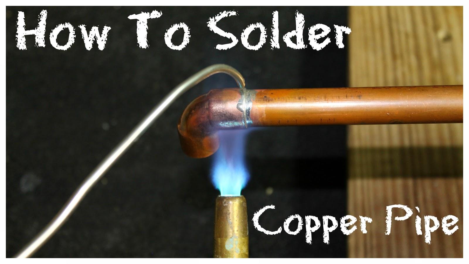 soldering copper pipe how to solder copper pipe simple suburban living 10094