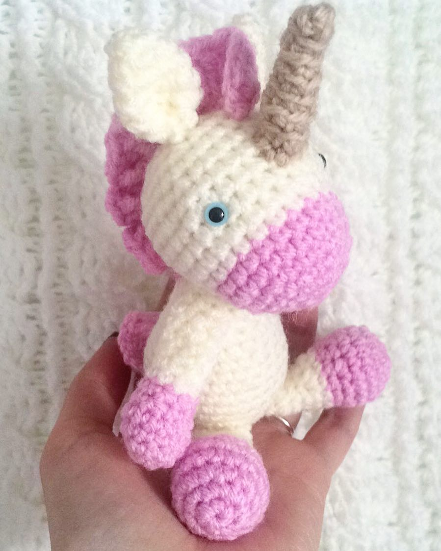 Lily Rainbow Cheeks the Chibi Unicorn amigurumi pattern ... | 1124x899