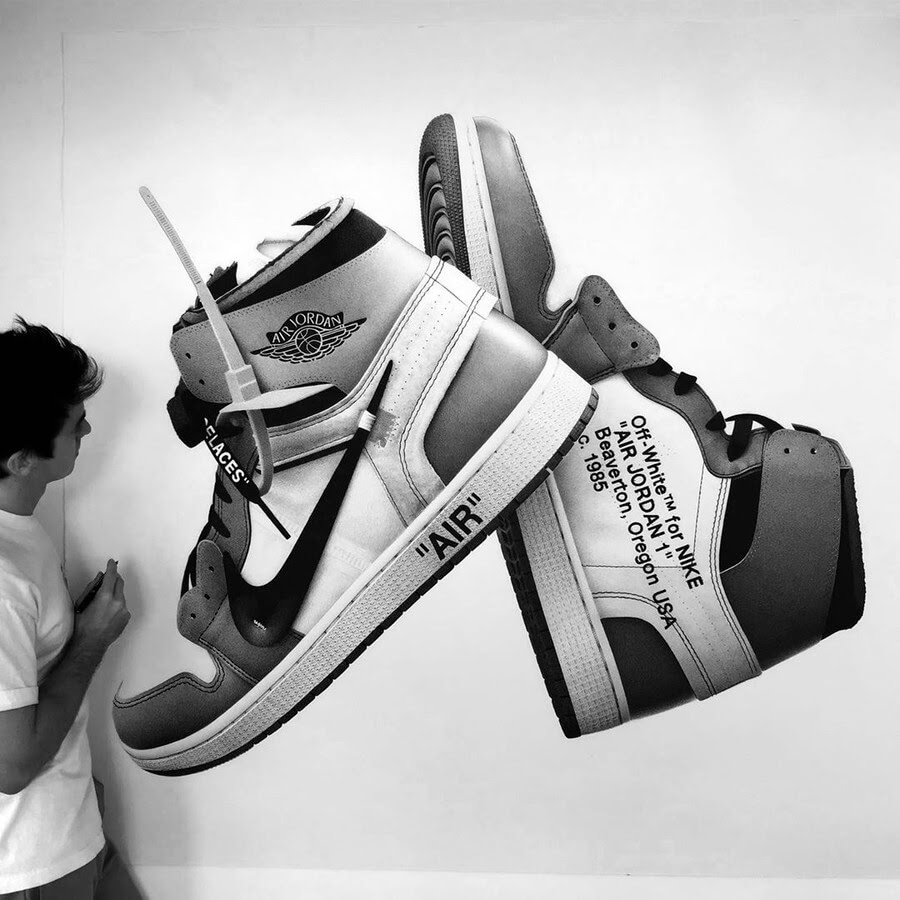 04-Off-White-Jordans-Jeremy-Lane-Realistic-Drawings-www-designstack-co