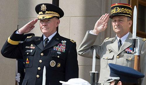 Генералы армий США и Франции