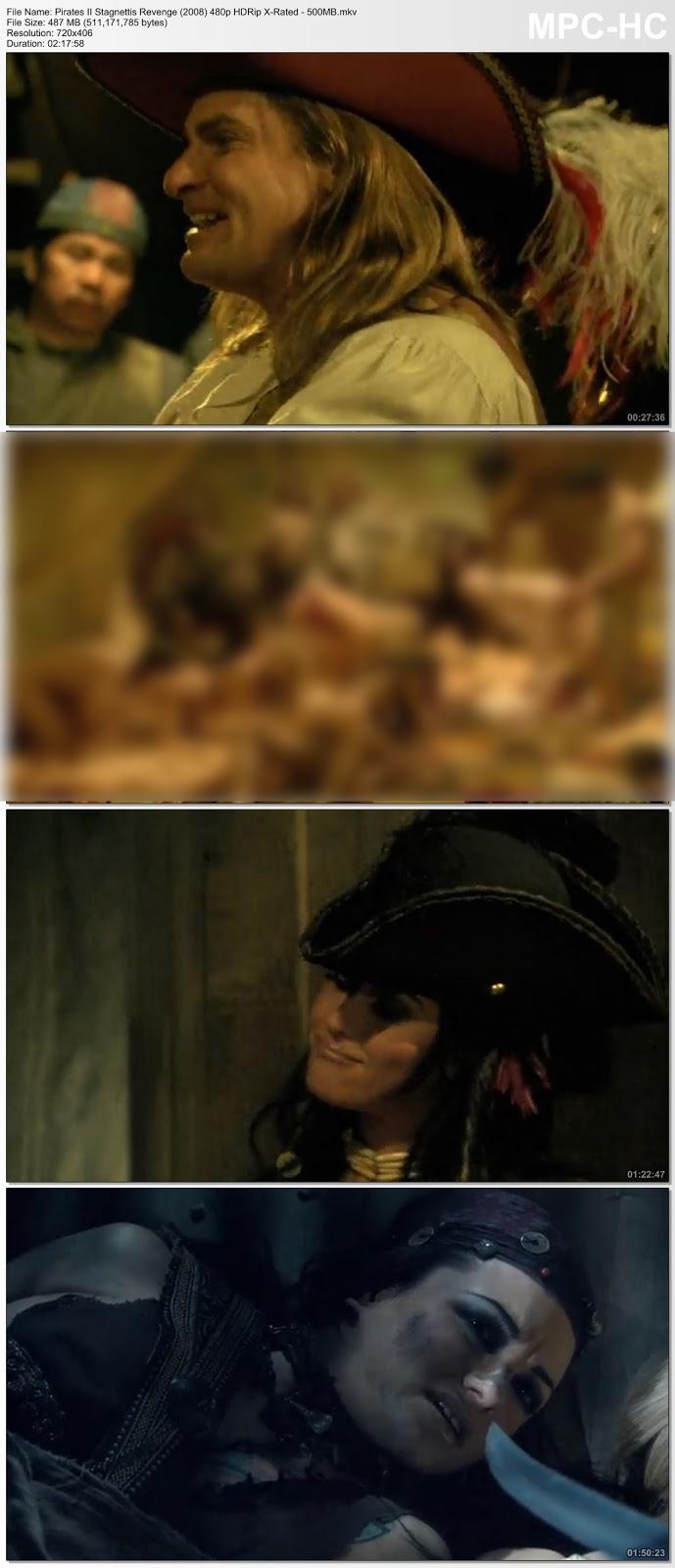[18+] Pirates II Stagnetti's Revenge (2008) 480p BRRip X-Rated – 500MB Desirehub