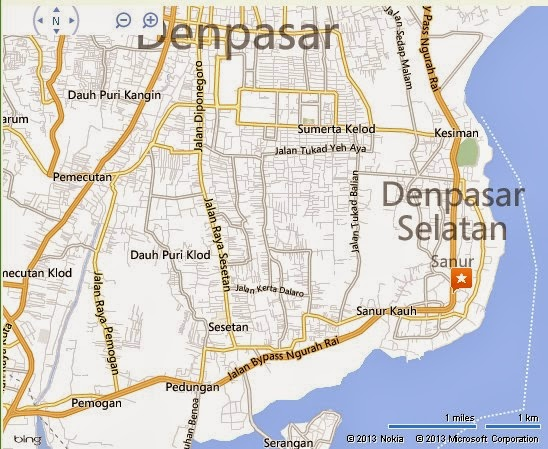 Peek A Boo Denpasar Bali Location Map,Location Map of Peek A Boo Denpasar Bali,Peek A Boo Denpasar Bali accommodation destinations attractions hotels map reviews photos