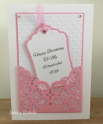 My Craft Room Makes Female Birthday Card