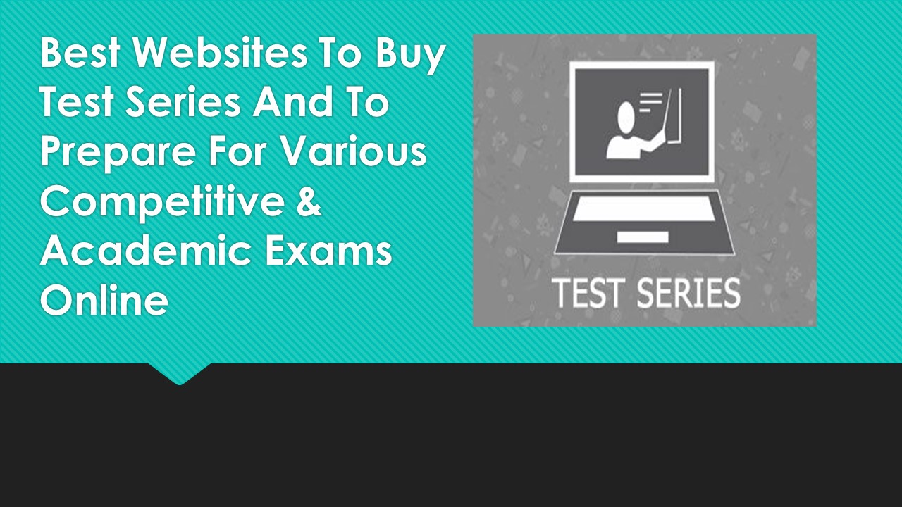 Best websites to buy test series and to prepare for for Best websites to buy online