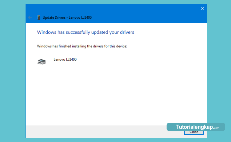 tutorialengkap cara manual update driver