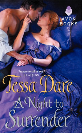 Book Review: A Night to Surrender (Spindle Cove #1) by Tessa Dare | About That Story