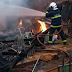 Residência pega fogo em Laranjeiras do Sul
