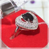 JUAL CINCIN PERAK BLACK DIAMON