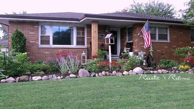 Flowers and gardens that add curb appeal to your home.