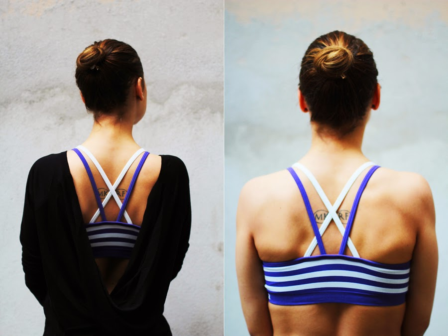 jasmin myberlinfashion wearing fabletics sport clothing