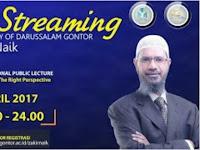 Live Streaming DR Zakir Naik di Gontor Ponorogo, Ini Info Dari Situs Resmi Gontor