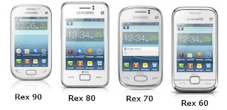 Samsung Rex 90, Rex 80, Rex70 and Rex 60 are the New Rex Series Smart Feature phone from Samsung