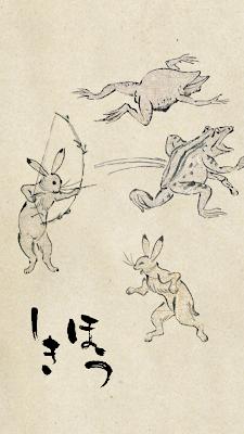 鳥獣戯画 北朝鮮 金正恩