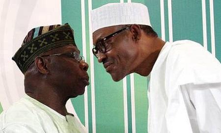 Obasanjo and Buhari face up