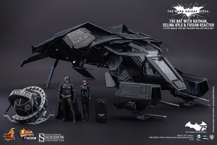 The Dark Knight Rises THE BAT 1/12TH