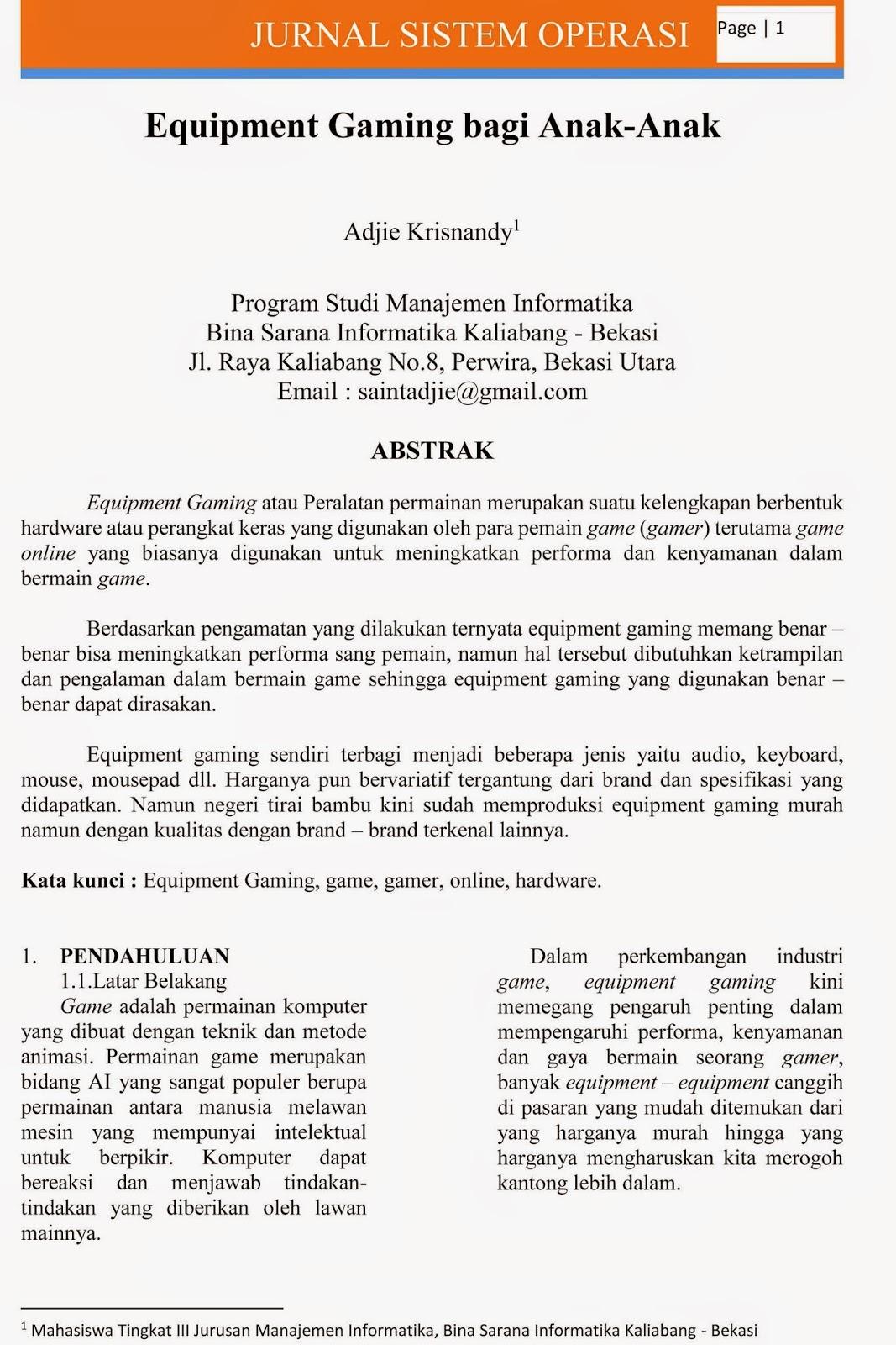 Perang Coc Tugas Bsi Sistem Operasi Jurnal Penelitian Semester 3