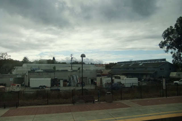 caltrain-view カルトレイン車窓