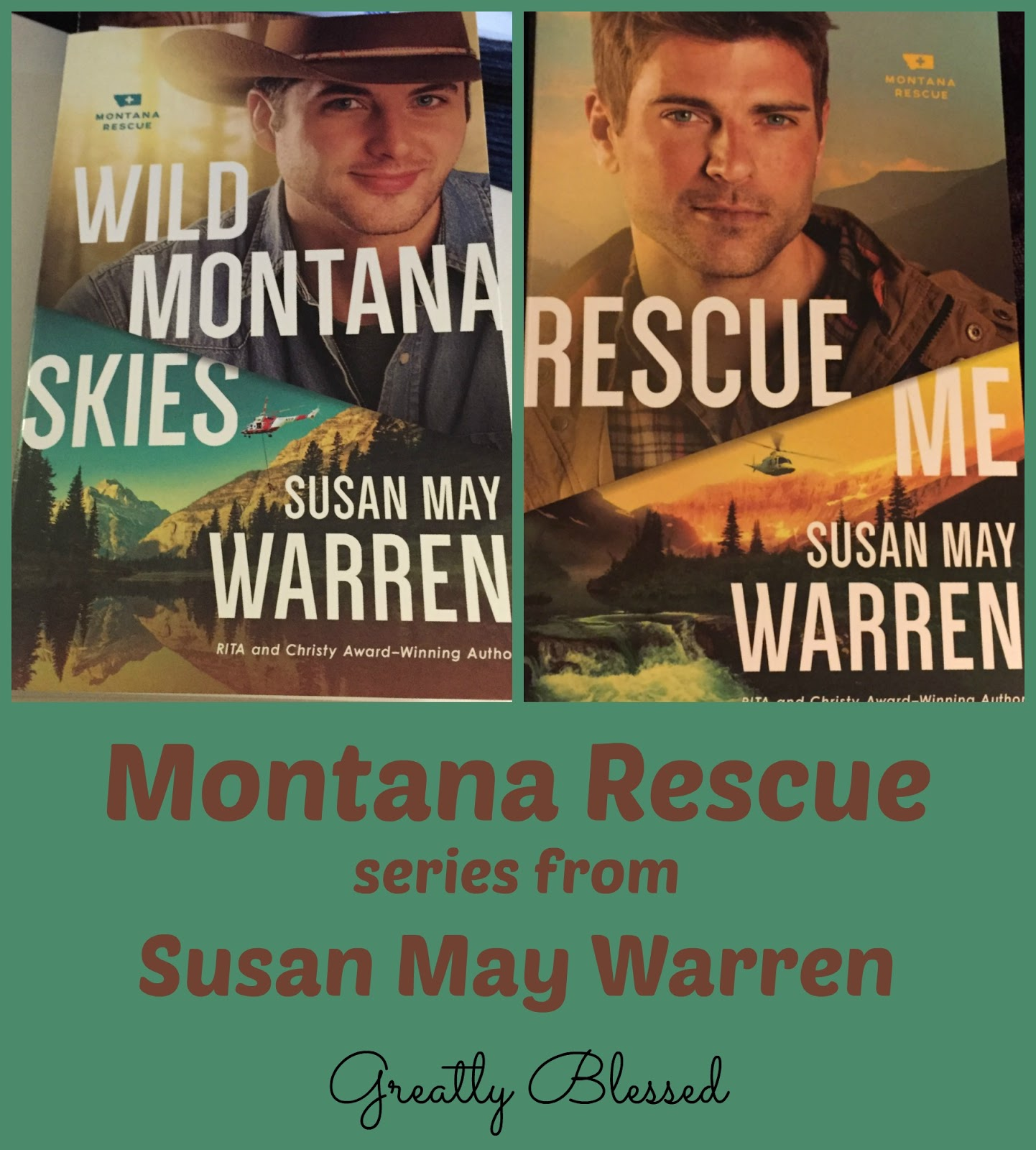 I whiled away the hours (well, some of them, anyway) on the long flight to  Hong Kong in November with Wild Montana Skies, by Susan May Warren.