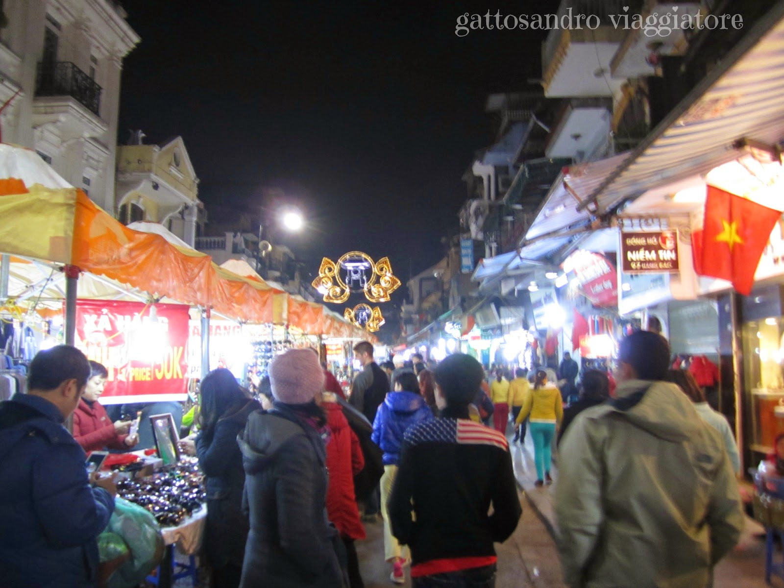 Night Market Hanoi