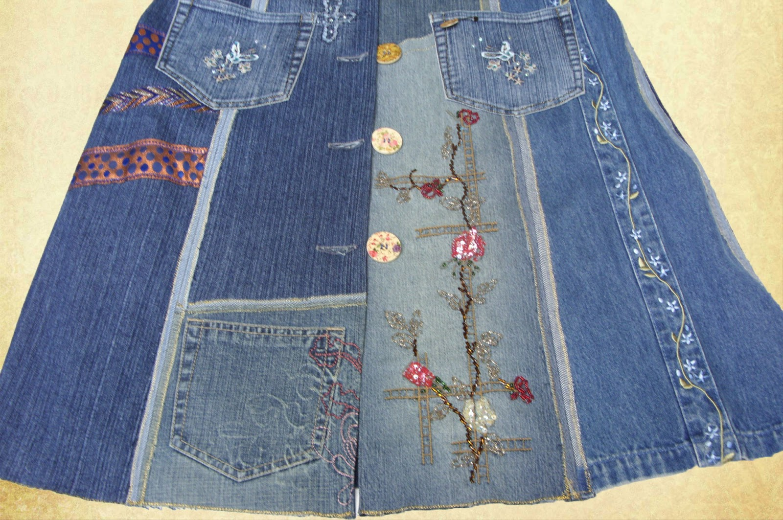 willkommen bei frauhohmann jeansmantel aus alten jeans. Black Bedroom Furniture Sets. Home Design Ideas