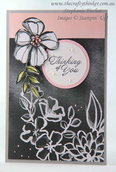 #thecraftythinker, #petalpassion, #cardmaking, #stampinup, Memories & More Petal Passion, Stampin' Up Australia Demonstrator, Stephanie Fischer, Sydney NSW