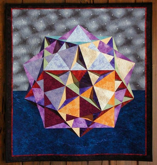 A Piece of Hyperspace - Free Quilt Pattern