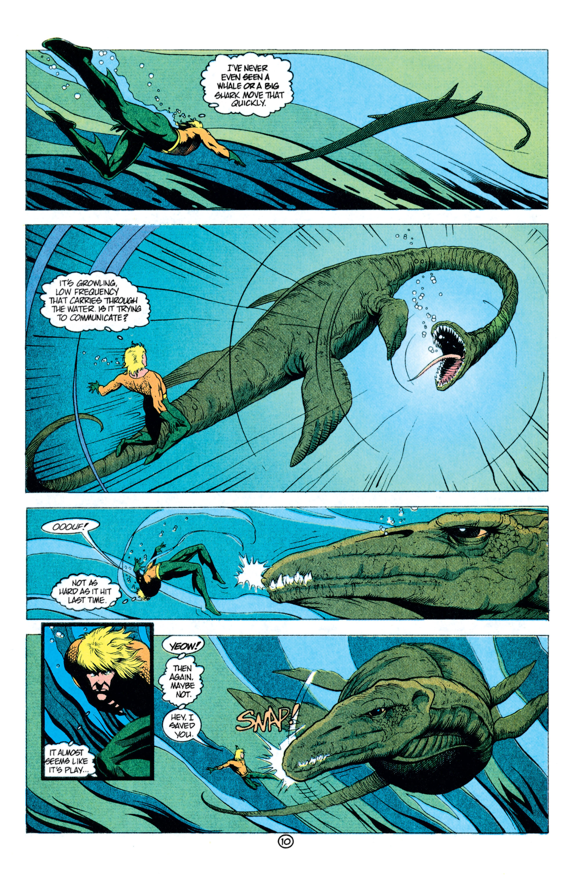 Read online Aquaman (1991) comic -  Issue #11 - 11