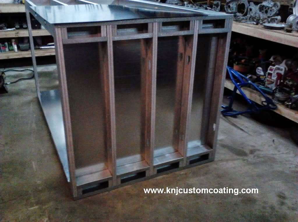 Powder Coating Oven Floor Frame