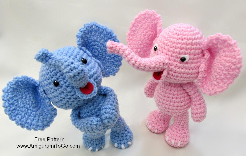 Cómo hacer un elefante en crochet - VIX | 621x980