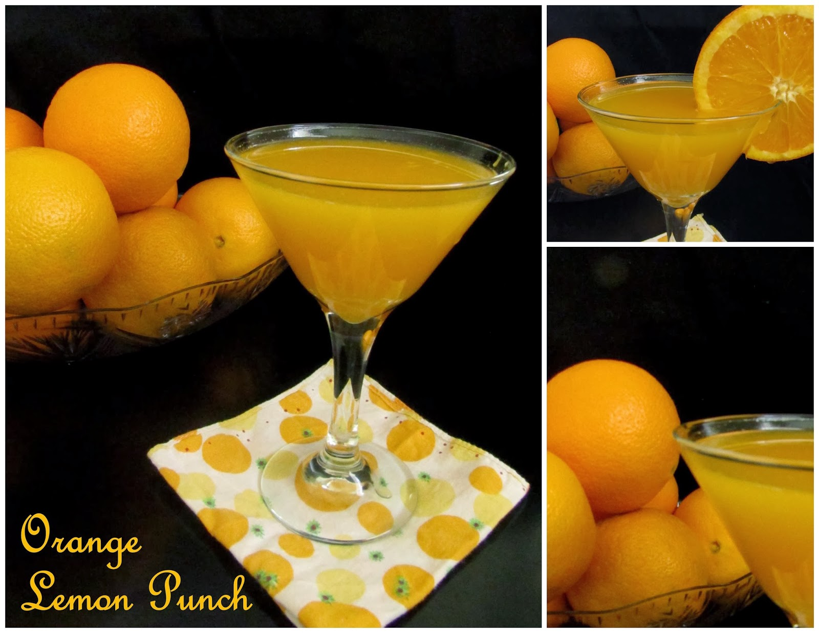 orange lemon punch