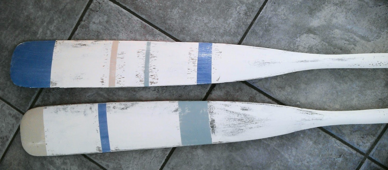 Painted Oars