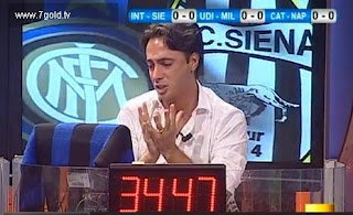 Filippo Tramontana Direttastadio Atalanta Inter 2-1 telecronisti tifosi video