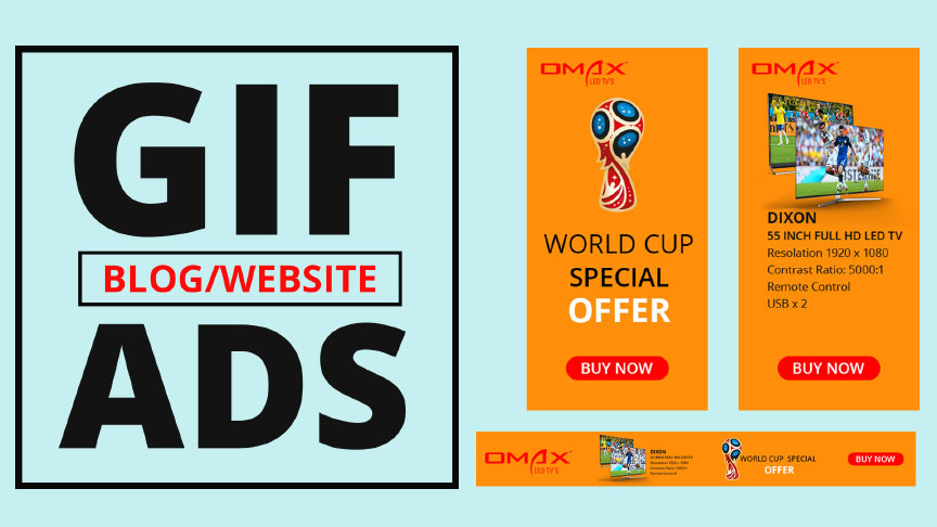 How to Create Animated GIF Web Banner Ads in Photoshop   GIF