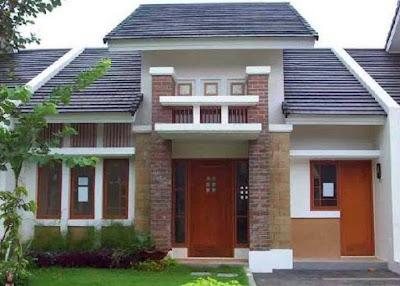 model desain rumah minimalis perkotaan