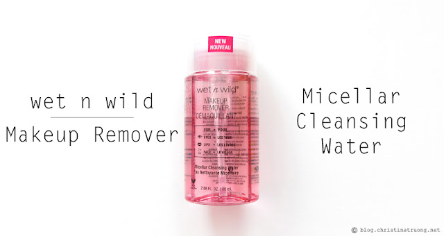 wet n wild 2017 collection Makeup Remover Micellar Cleansing Water