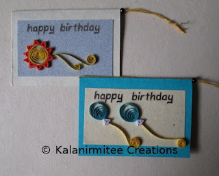 kalanirmitee: Quilled cards