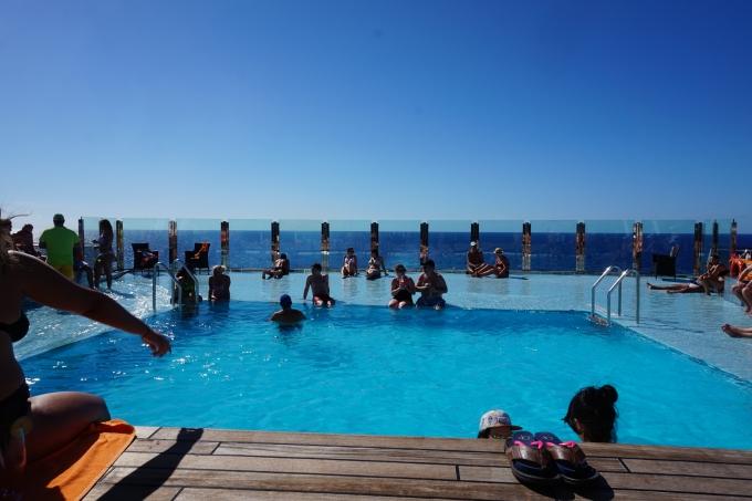 MSC Divina Karibian risteily infinitypool / Garden pool