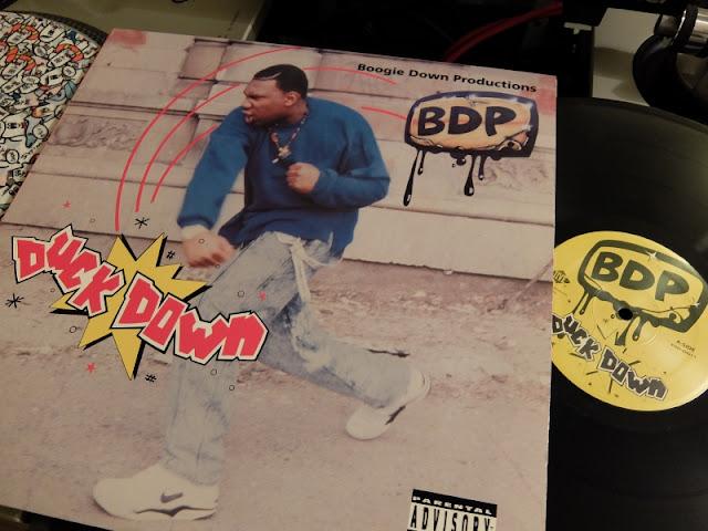 DUCK DOWN / BDP | KRS ONE のアナログレコードの写真です。