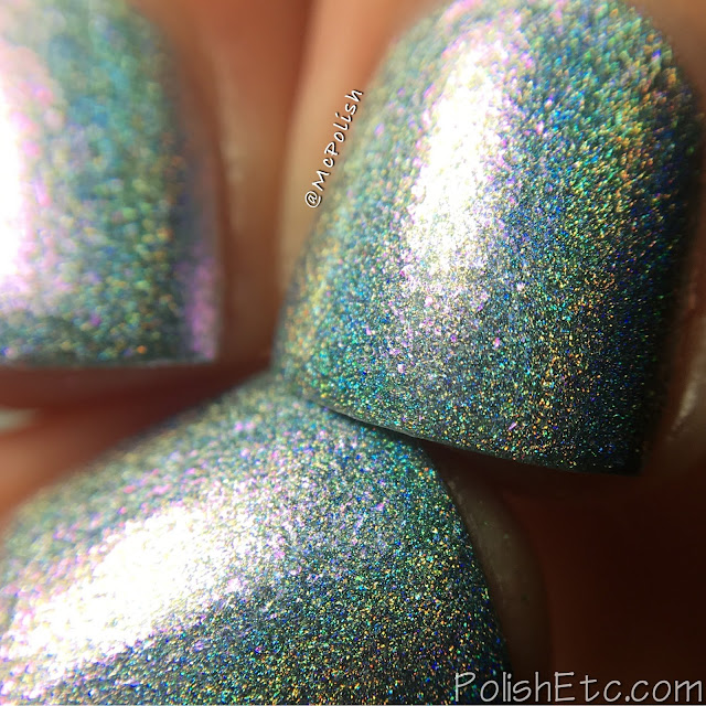 Glitter Daze - Moon Baby Collection - McPolish - Crescent