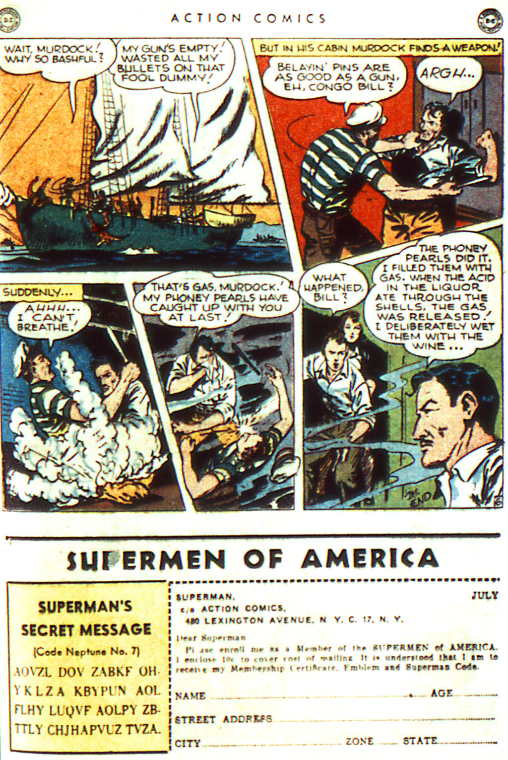 Read online Action Comics (1938) comic -  Issue #98 - 35