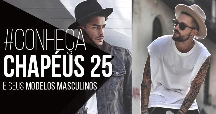 Macho Moda - Blog de Moda Masculina   Conheça  Chapéus 25 e seus Chapéus  Masculinos super Acessíveis 969c2c225ea