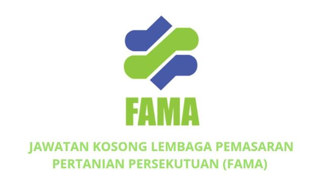 Jawatan Kosong FAMA 2021 Lembaga Pemasaran Pertanian Persekutuan