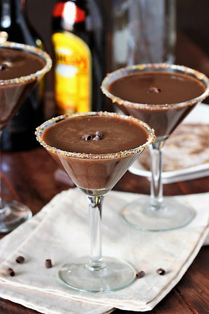 Chocolate Martini Image ~ Enjoy pure chocolate decadence with this rich and delicious Chocolate Martini.